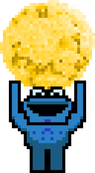 Cookie Monster by Zenze